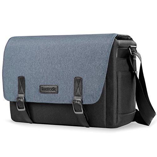 Inateck borsa a spalla per macchina fotografica, per laptop 14