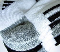 Adidas Mens Performance Low Cut Climalite Socks - White (6-pack)