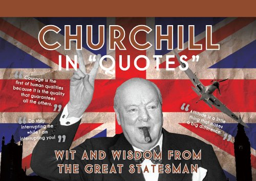 Churchill in Quotes (Postcards)