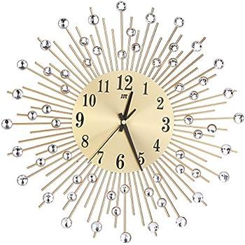Acctim 21760 Stella Sprayed Starburst Wall Clock Gold