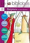 Le bibliobus n° 22 CM - 4 oeuvres complètes : Raiponce ; Le loup mon oeil ! Thésée et le Minotaure ; Toto l'ornithorynque et le maître des brumes