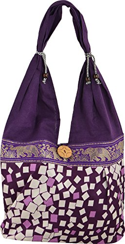 Shop Frenzy Women's Shoulder Bag (Purple)  available at amazon for Rs.129