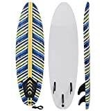 vidaXL Surfbrett 170cm 3mm Surfboard Stand Up Board Shortboard Wellenreiter