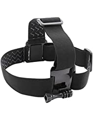 Kitvision Adjustable Head Strap Mount Harness for Action Cameras Including Kitvision Edge HD10/Splash/Escape 5/Escape 5W and GoPro Hero (3, 3  or 4) -