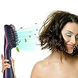 –Spazzola per capelli asciugacapelli con capelli lisci, v-joy 2-in-1multifunzionale asciugacapelli umido e secco capelli doppio uso, spazzola per capelli capelli elettrica anioni Ion asciugacapelli 1000W