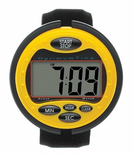 Stoppuhr für optimale Bestzeit für Geländeritt- für exakte Zeit im Geländeritt- Gro?er, leichter lesbarer LCD- Bildschirm, komfortable mit Alarmfunktion