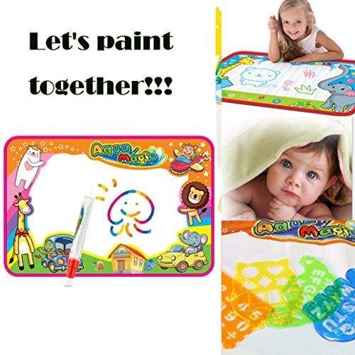 c3294b3a9d EXTSUD Wasser Doodle Matte Magic Matte 86x57cm Kids Baby Toddler Wasser  Zeichnen Matte Toy mit ...