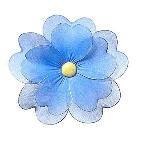 "Heart to Heart Heart To Heart Blue Multi Layered Daisy Flower Decorations Medium 6"" Nursery Bedroom Ceiling Wall Decor"