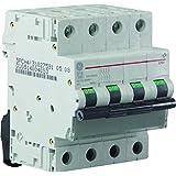 General Electric AUN566655 Disjoncteur 4 Pôles 20 A Courbe D 6 kA