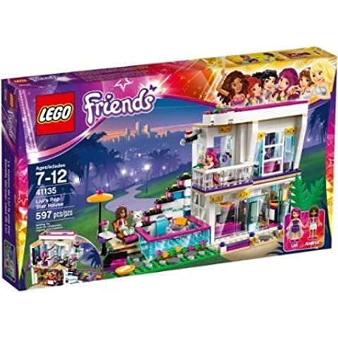 LEGO LEGO Friends Livi's Pop Star House, 41135 Andrea at Livi's Glamorous House by LEGO