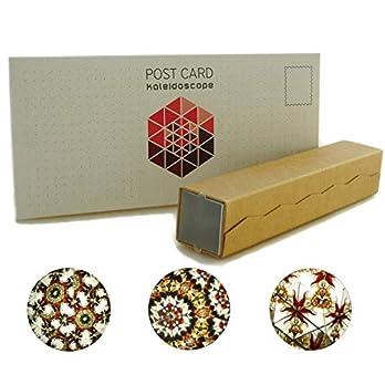 Kaleidoskop Konstruktor für Kinder, originales Design mit Bernstein, natürliche Materialien, Spielzeug, DIY Geschenk
