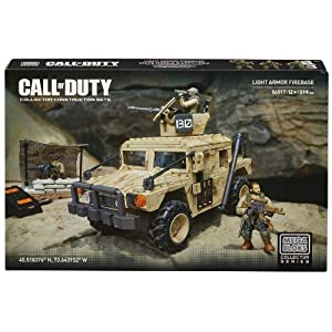 Mattel Mega Bloks DCL23 Call Of Duty – Light Armor Firebase