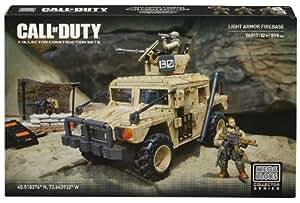 Mega Bloks - Call Of Duty - Base d'artillerie de véhicule blindé léger