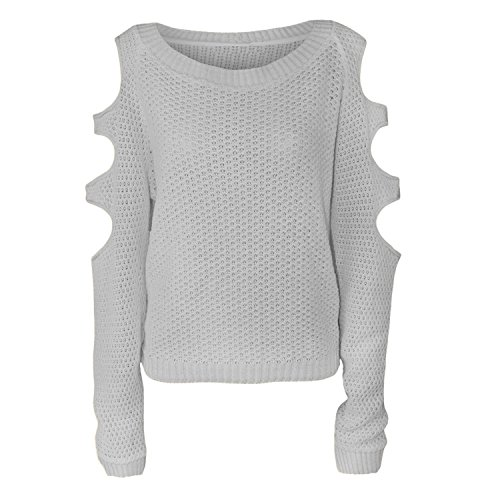Comfiestyle - Sweat-shirt - Pull - Femme Gris