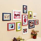 #9: WollWoll Love Romantic Bedroom Design Valentine's Day Large Wood Photo Frame Set (135 cm x 2 cm x 70 cm)