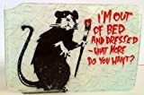 Banksy I'm out of bed - Oyster Card Holder