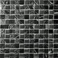 50 x BLACK MARBLE EFFECT SELF ADHESIVE STICK ON VINYL FLOOR TILES - KITCHEN BATHROOM - low-cost UK light shop.