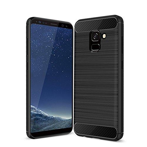custodia samsung a8 2018 silicone