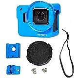 Mekingstudio Metal Aluminum Alloy Protective Case Frame Housing Case Shell For GoPro Hero 5 Blue
