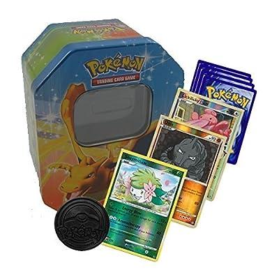 Pokémon Starter Collection 50cartes Y Compris cartes holo et rares dans boîte en métal