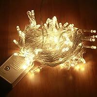 LEDMOMO LED Luces de Cadena Guirnalda de Luces con Alambre de Cobre Impermeable la Decoración para