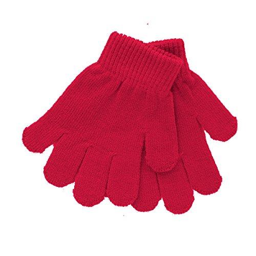 topb bord bébé gants Magic, pour bébé et enfant, en tricot Disponible en 6 couleurs : noir, rose clair, bleu marine, bleu clair, rouge et blanc. - - One Size