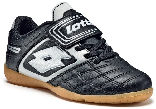 lotto-sport-stadio-potenii-700-idjrs-chaussures-de-sport-football-garcon-noir-schwarz-black-silver-2