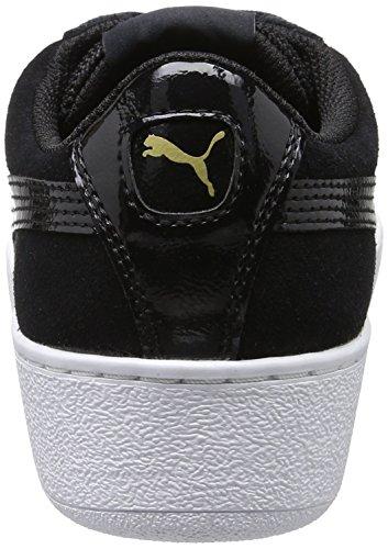 Puma Puma Vikky Platform, Sneakers basses femme Noir (Puma Black-puma White 05)