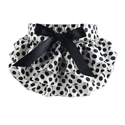 Oyedens Baby Diaper Cover Ruffled Mutandine Bambina Pantaloncini CUTE intagliata Bloomers gonne pantskirts