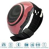 Bluetooth Senza Fili Portatile Dell'Altoparlante Watch,Bracciale Multifunzionale con MP3 Lettore Musicale,Chiamata a Mani Libere, Radio, Autoscatto, Supporti USB, TF Prendendo Photoes