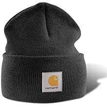 Carhartt A18 Acrylic Watch Hat Beanie black - Negro