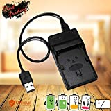 #2: NB-8L NB8L USB Cable Camera Battery Charger For Canon PowerShot A2200 IS A3000 IS A3100 IS A3200 IS A3300 IS Digital Cameras
