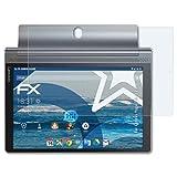atFolix Schutzfolie kompatibel mit Lenovo Yoga Tab 3 Plus Panzerfolie, ultraklare & stoßdämpfende FX Folie (2X)