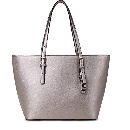 Damen Groß Mode Berühmtheit Tragetaschen Damen Qualität Schnell verkaufend Modisch Handtasche Silber