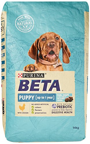 Beta Puppy Dry Dog Food with Chicken, 14 kg