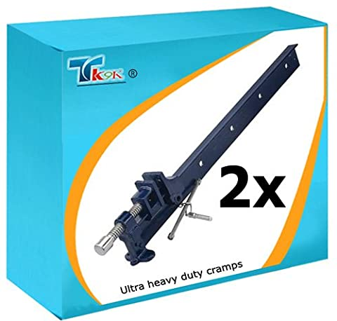 TK9K® - 2 x 900mm Clamps 36