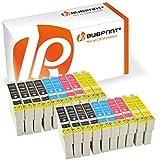 Bubprint 20x Druckerpatronen kompatibel für Epson T1291 T 1291 T1292 T 1292 T1293 T 1293 T1294 T 1294 Stylus SX435w SX 435 w schwarz cyan gelb magenta