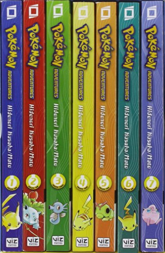 POKEMON ADVENTURES GN BOX SET VOL 01 (C: 1-1-2)