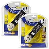 Comsmart Türstopper-Alarm mit 120db-Sirene, Home-Security-System, Türstopper für Zuhause und für Reisen (2er-Pack)