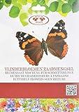 Saatgut für Schmetterlinge, Blumensamen, Futtersamen Schmetterlinge, Schmetterlingsfutter für 4m²