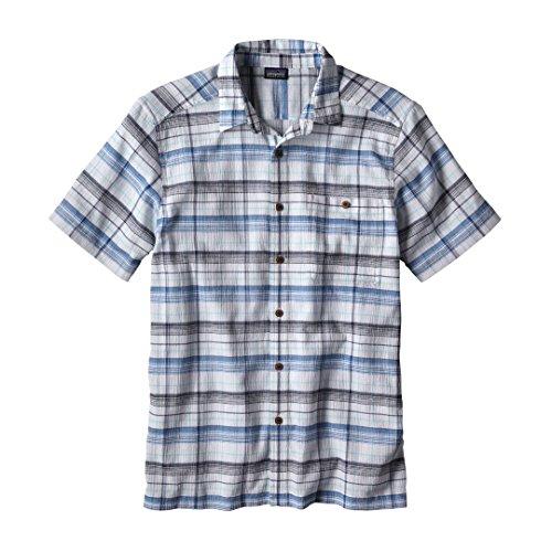 Patagonia M's A/C Shirt Abyss: White XS (Patagonia Shirt White)