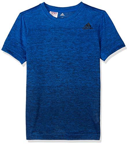 adidas Jungen Training Grad Kurzarm T-Shirt, Blue/Collegiate Navy, 152