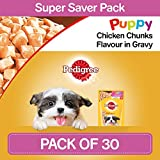 [Sponsored]Pedigree Gravy Puppy Dog Food Chicken Chunks In Gravy, 80 G (Pack Of 30)