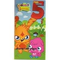Moshi Monsters Age 5 Birthday Card by Party Bags 2 Go