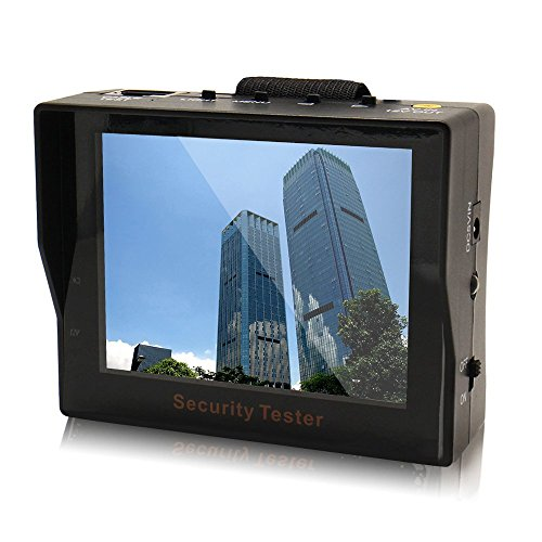 Audio-Video Security Tester CCTV Kamera 8,9 cm TFT LED Audio Monitor Tragbarer Security Tester