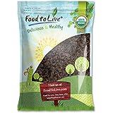 Food to Live Pasas sin semillas Thompson de California orgánicas (secado al sol, no OMG) 3.6 Kg