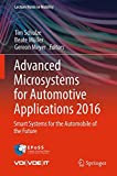 Advanced Microsystems for Automotive Applications 2016: Smart Systems for the Automobile of the Future (Lecture Notes in Mobility)