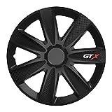 Universal Radzierblende GTX schwarz 14 Zoll für viele Fahrzeuge passend