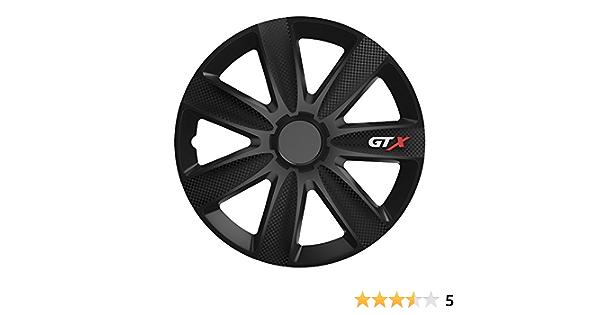 Universal Radzierblende Gtx Schwarz 16 Zoll Für Viele Fahrzeuge Passend Auto