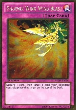 Yu-Gi-Oh! - Phoenix Wing Wind Blast (PGLD-EN070) - Premium Gold Gold Gold - 1st Edition - Gold Rare by Yu-Gi-Oh!   Des Performances Fiables  1a241e